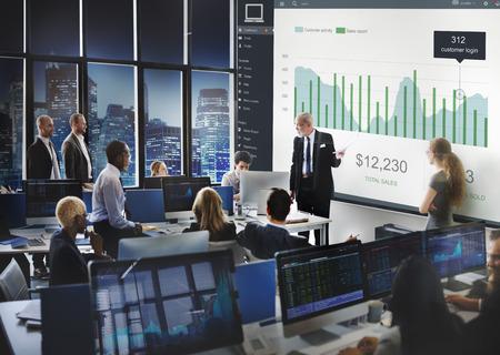 55177987 - customer marketing sales dashboard graphics concept
